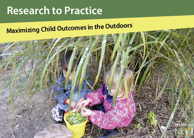Research to Practice: Maximizing Child Outcomes in the Outdoors