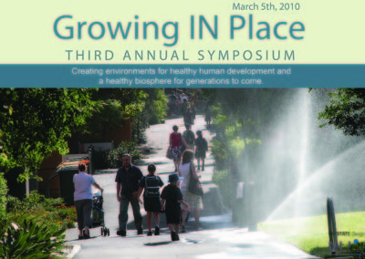 Growing IN Place Symposium 2010