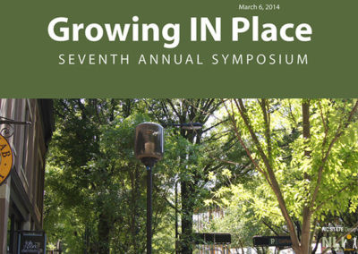Growing IN Place Symposium 2014