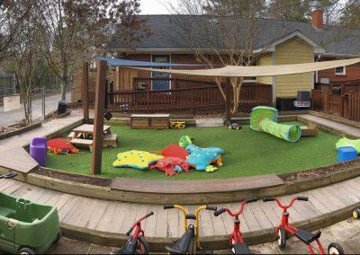 Infant/toddler area
