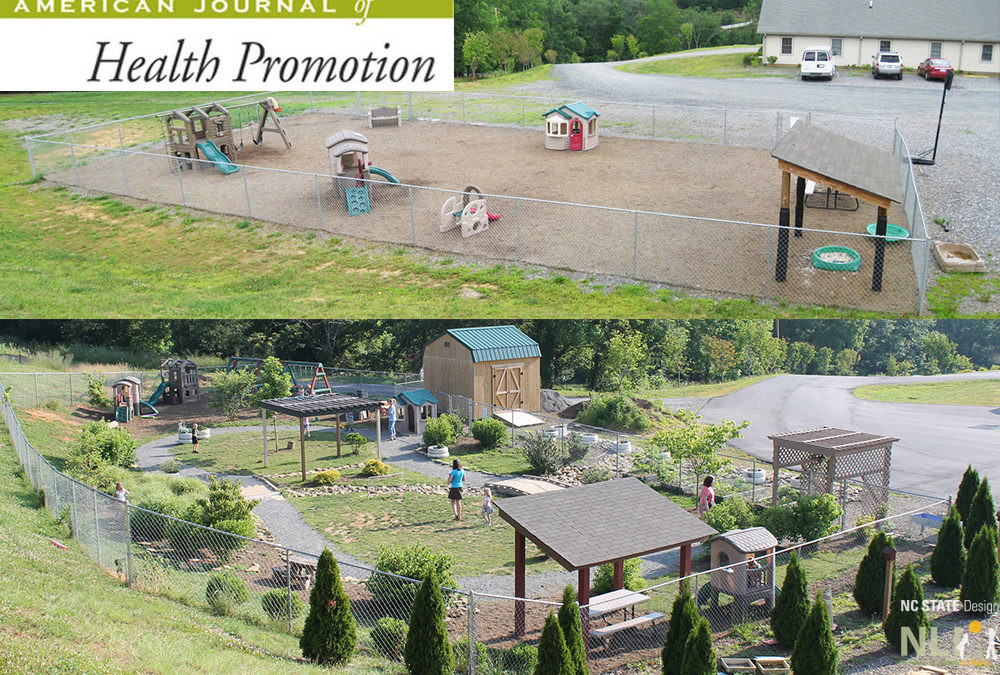 Childcare Outdoor Renovation as a Health Promotion Strategy