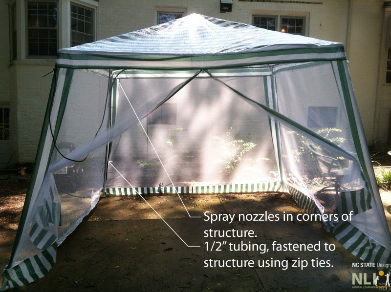Summer Play: Affordable Misting Station