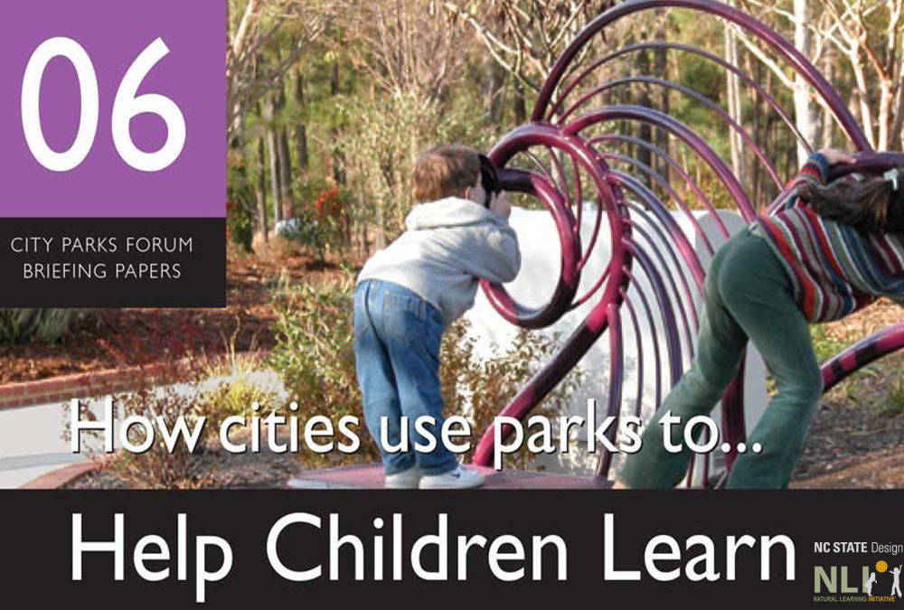 How Cities Use Parks to Help Children Learn