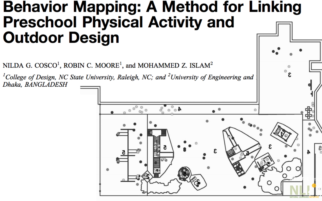 Behavior Mapping: A Method for Linking Preschool Physical Activity and Outdoor Design