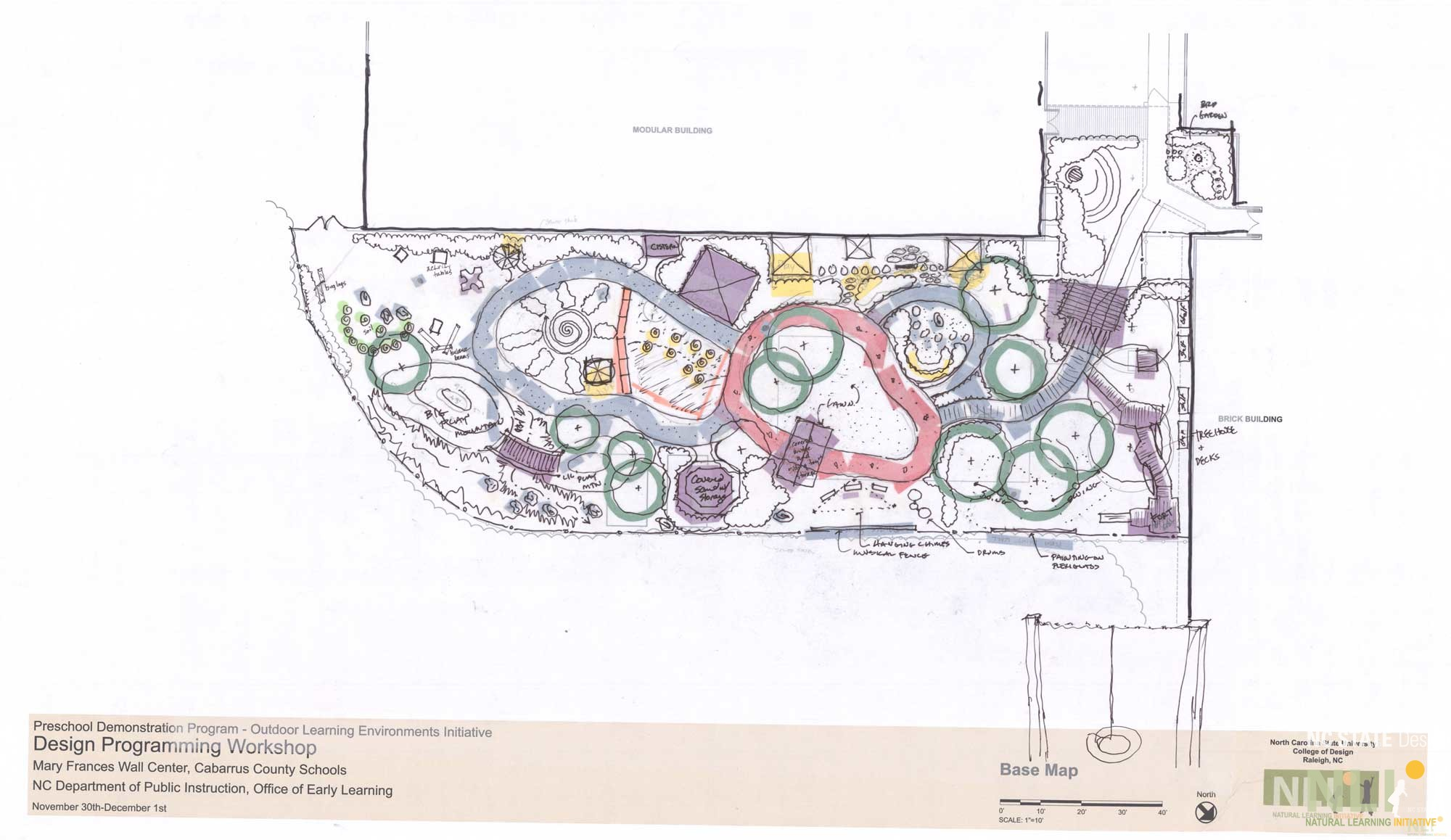 Mary Frances Wall Center, Cabarrus County Schools: Concept