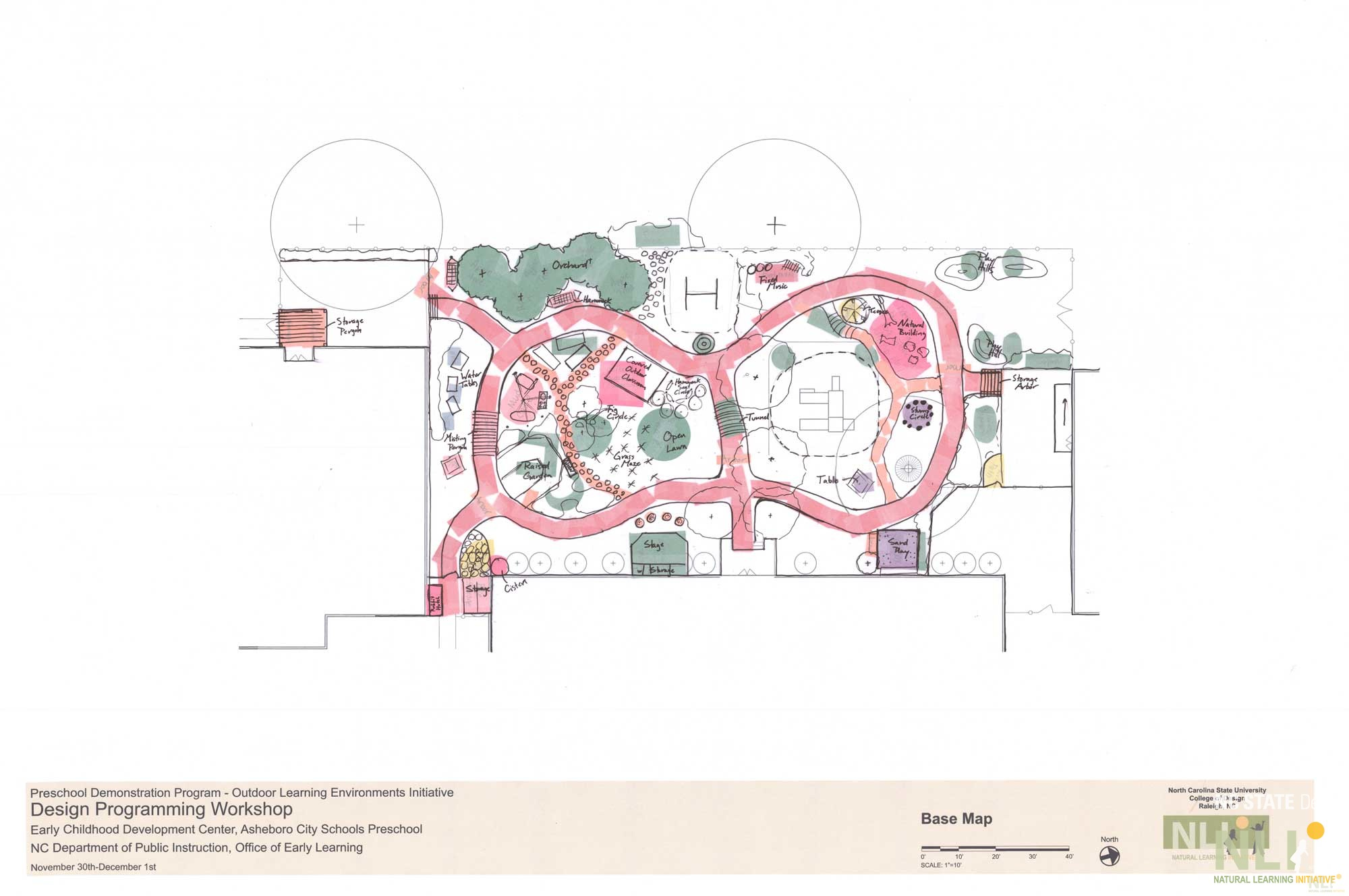 Early Childhood Development Center, Asheboro City Schools: Concept