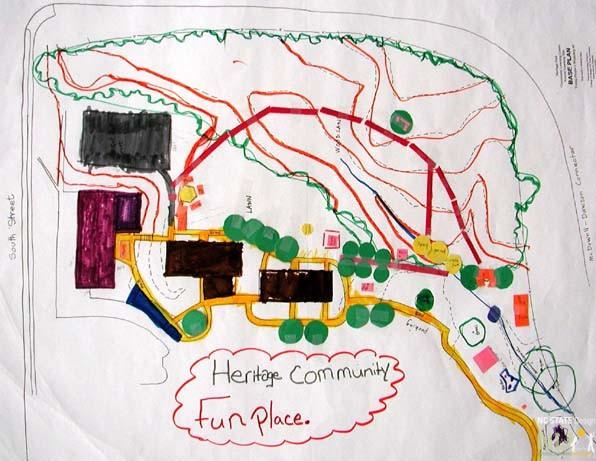 "Community design: ""Heritage Community Fun Place"""