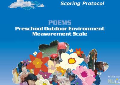 Preschool Outdoor Environment Measurement Scale POEMS