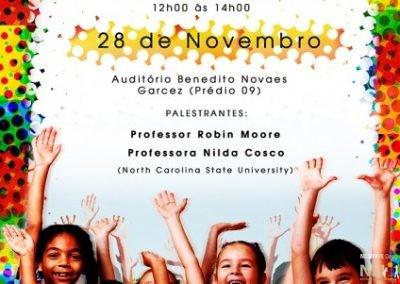 Presentation at Mackenzie Presbyterian University in São Paulo, Brazil