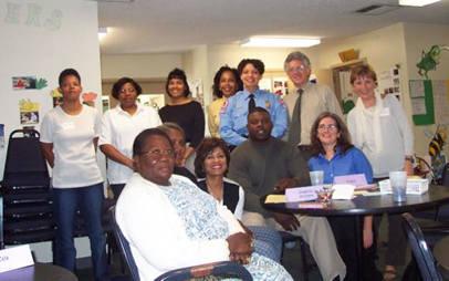 Kickoff Stakeholder's Meeting, 2002, community members, Junior League, Raleigh Housing Authority