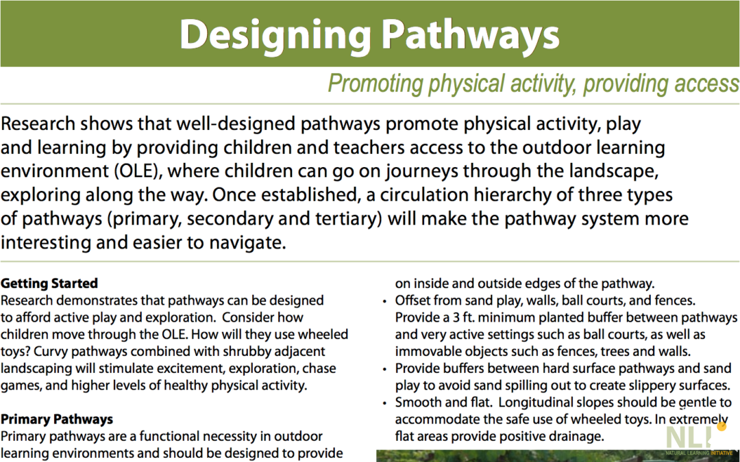 Designing Pathways