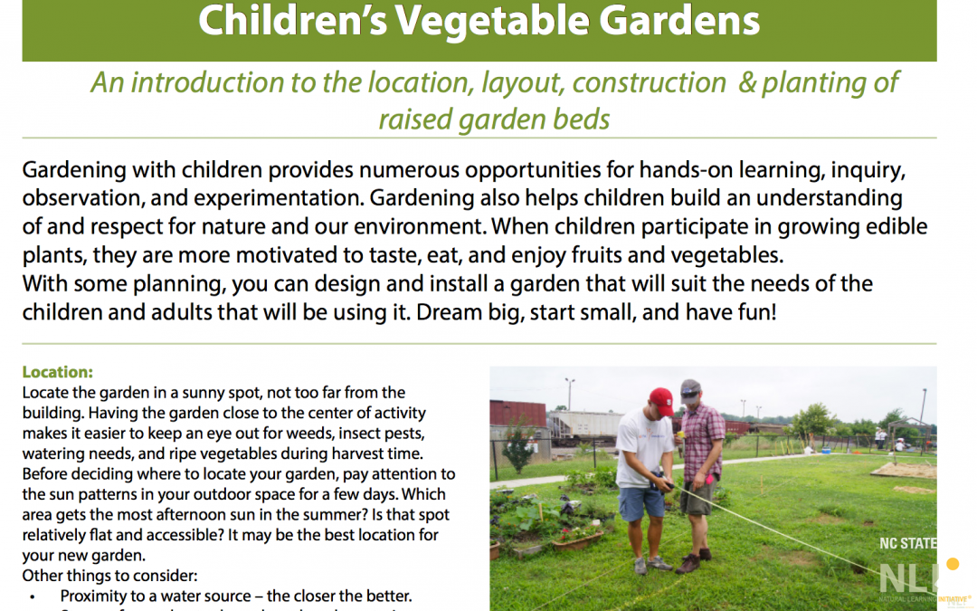 Fruit and Vegetable Gardens