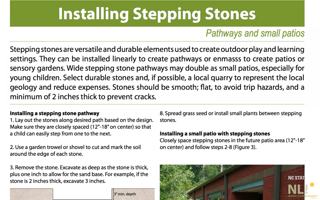 Installing Stepping Stones