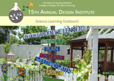 15th Annual Natural Learning Design Institute
