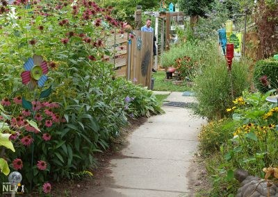 Wildlife Habitat Pollinator Garden