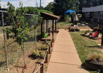 Protected plant beds
