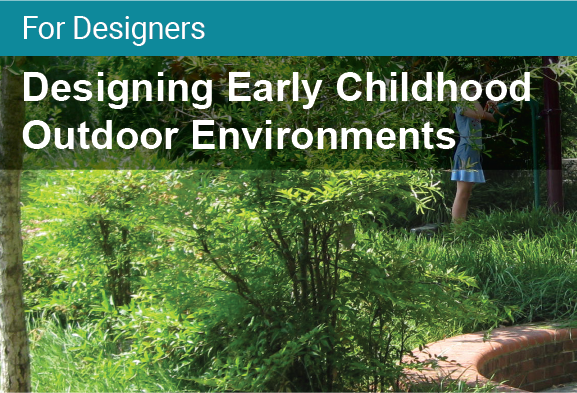 Designing Early Childhood Outdoor Environments Certificate