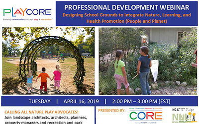 Designing School Grounds to Integrate Nature, Learning, and Health Promotion (People and Planet) Webinar