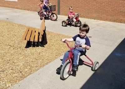 Wheeled toy play
