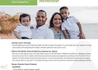 Parent Engagement – November