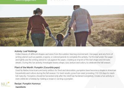 Parent Engagement – October