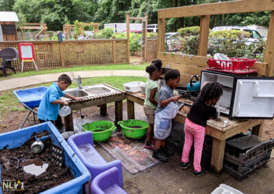 Creating A Mud Kitchen